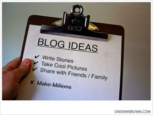 Blogging, Content, Article & News Sites