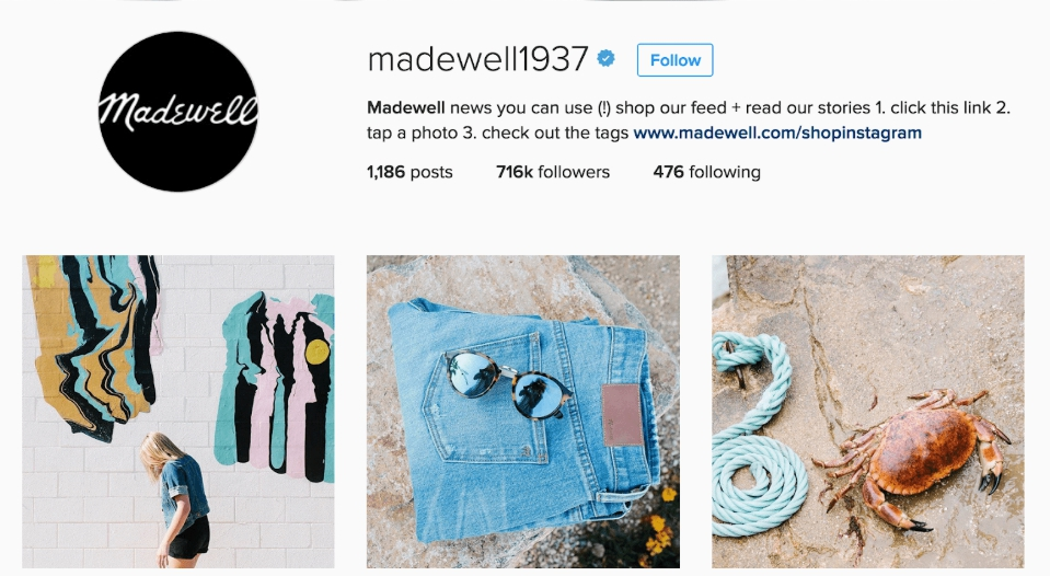 Instagram Madewell1937