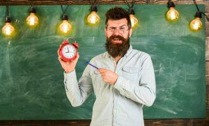 discipline bearded man