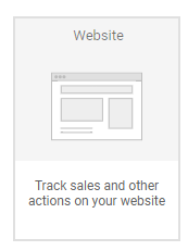 Google adwords website tracking