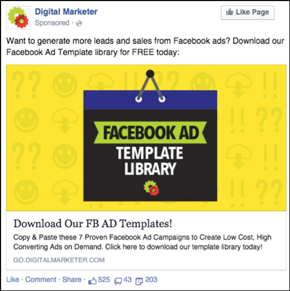 Another Example of a Retargeting Ad