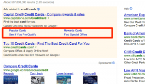 AdWords Upgraded Sitelinks
